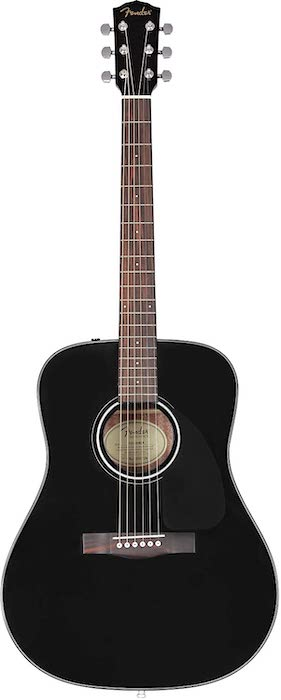 Fender CD 60 Acoustic Guitar - 7 Best Acoustic Guitar in India - Beginners & Experts Price (2020)