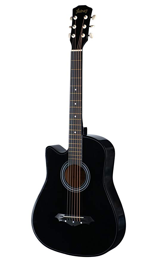 Juarez JRZ38C Acoustic Guitar - 9 Best Guitars for Beginners in India (2020) - Review & Comparison