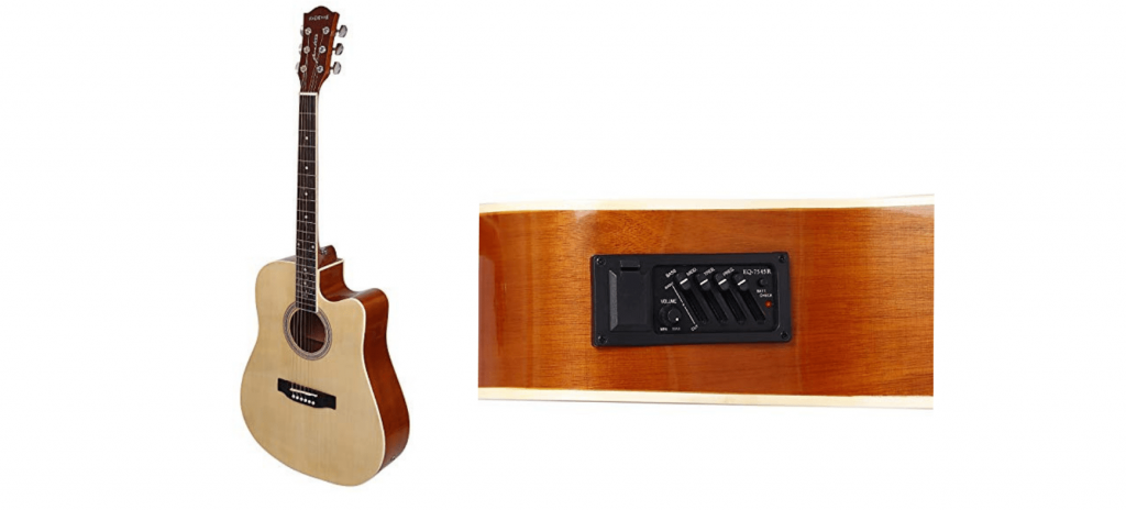Kadence Frontier Series Semi Acoustic Guitar With Equalizer