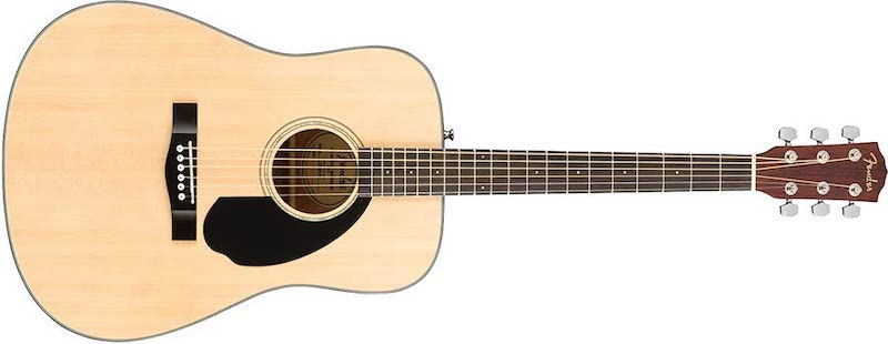 Fender CD 60S Dreadnought Acoustic Guitar - 7 Best Acoustic Guitar in India - Beginners & Experts Price (2020)