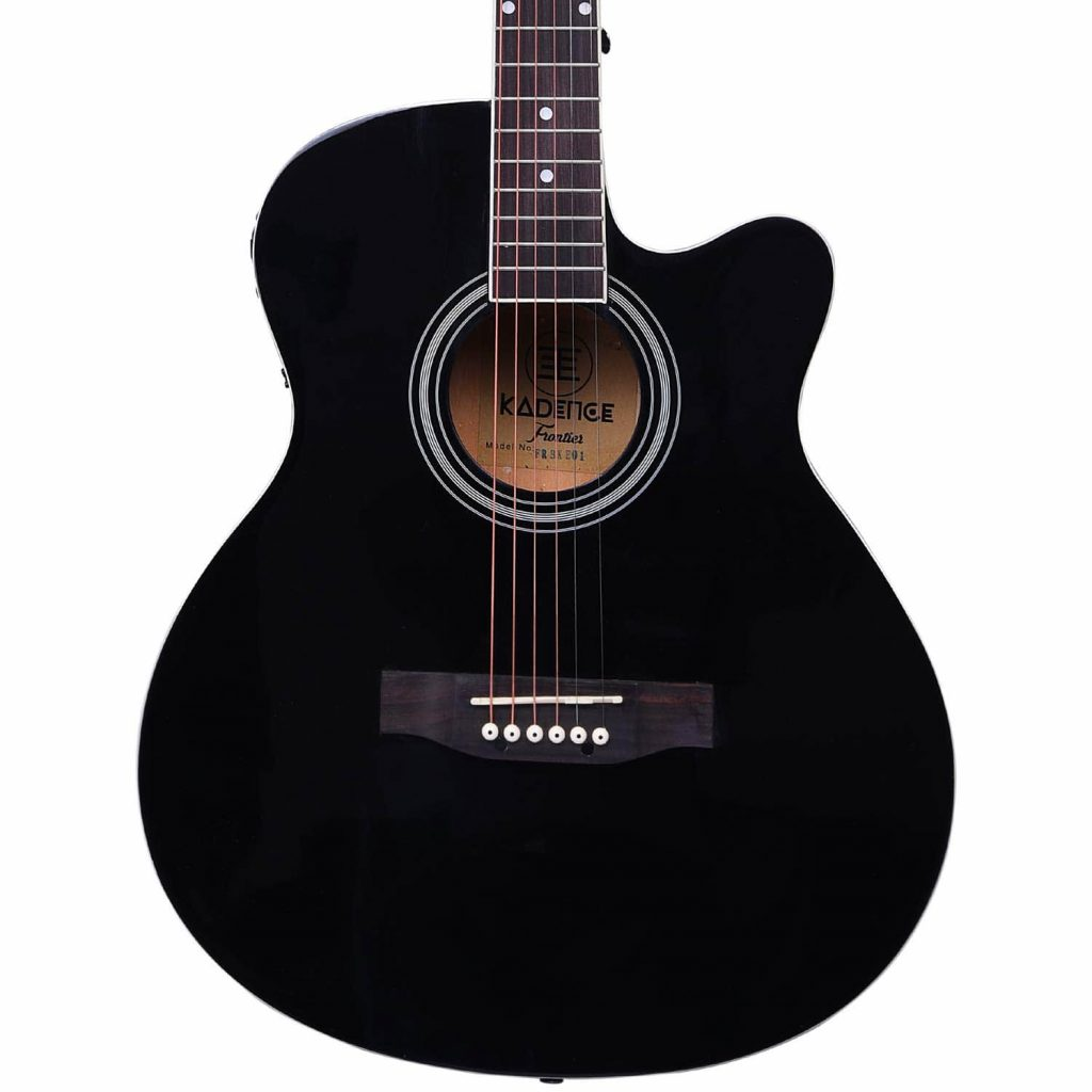 Kadence Frontier Series Black 2 1024x1024 - 7 Best Acoustic Guitar in India - Beginners & Experts Price (2020)