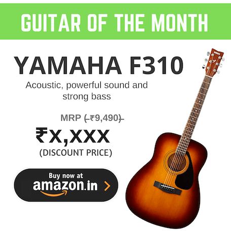 Best Guitar of the month in India