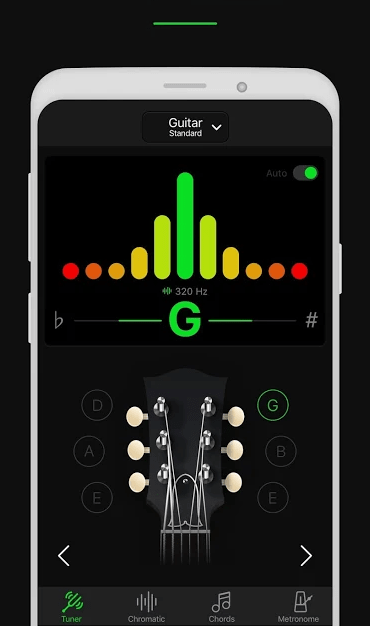 GuitarTuna Guitar Tuner Android App - 8 Best Guitar Tuner in India (2020)