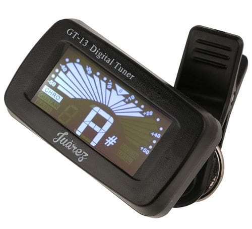 Juarez GT 13 Guitar Tuner - 8 Best Guitar Tuner in India (2021)