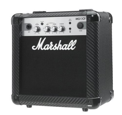 Marshall MG4 Carbon Series 10Watt Amp - Guitar Accessories for Beginners/Experts