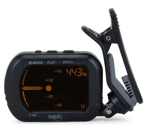 Musedo T40 Guitar Tuner - 8 Best Guitar Tuner in India (2021)