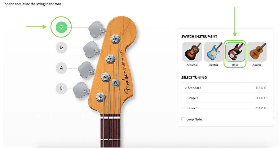 Tuning Bass Guitar Online - 8 Best Guitar Tuner in India (2021)