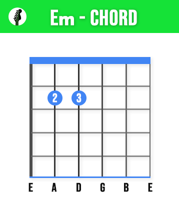 Em Guitar Chord - Learn These 11 Basic Guitar Chords To Play Any Song - Beginners Guide
