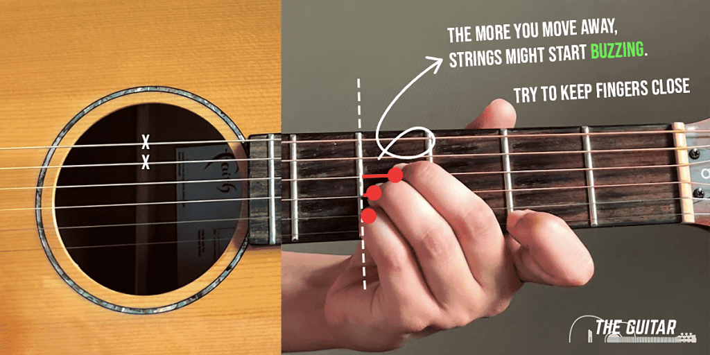 Playing B Chord With Guitar 1024x512 - The B Guitar Chord - 3 Easy Ways & Tips To Play Like A Pro!