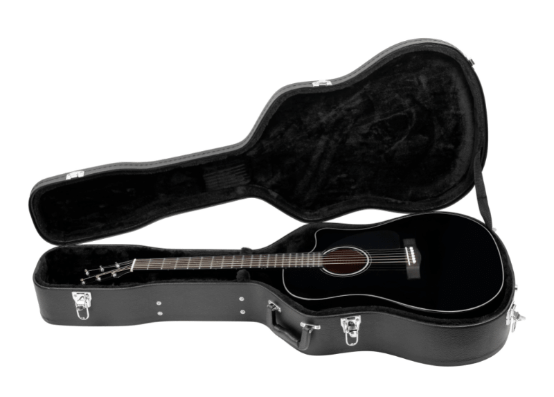 Guitar Hard Case Black - Guitar Accessories for Beginners/Experts