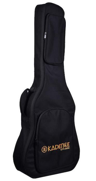 Kadence XA Series Heavy Padded Acoustic - 8 Best Guitar Bags in India - Buying Guide!